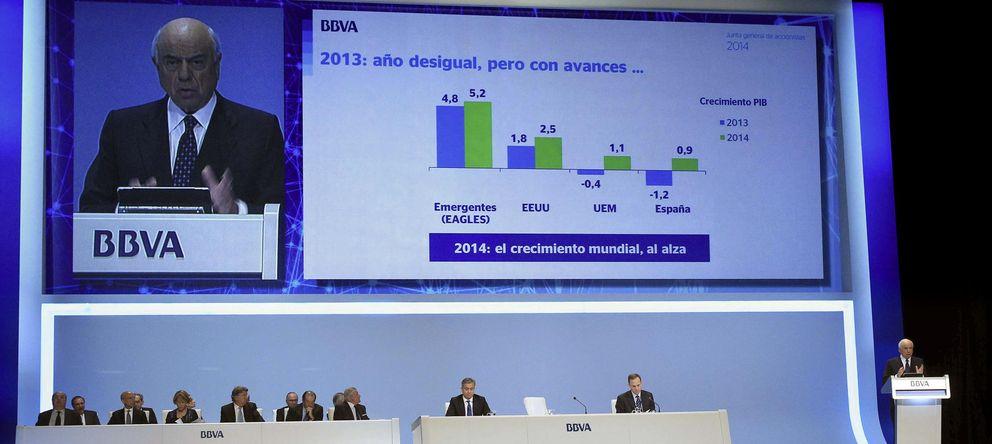 Foto: Las entidades cotizadas del Ibex ganan un 32% menos en el primer trimestre