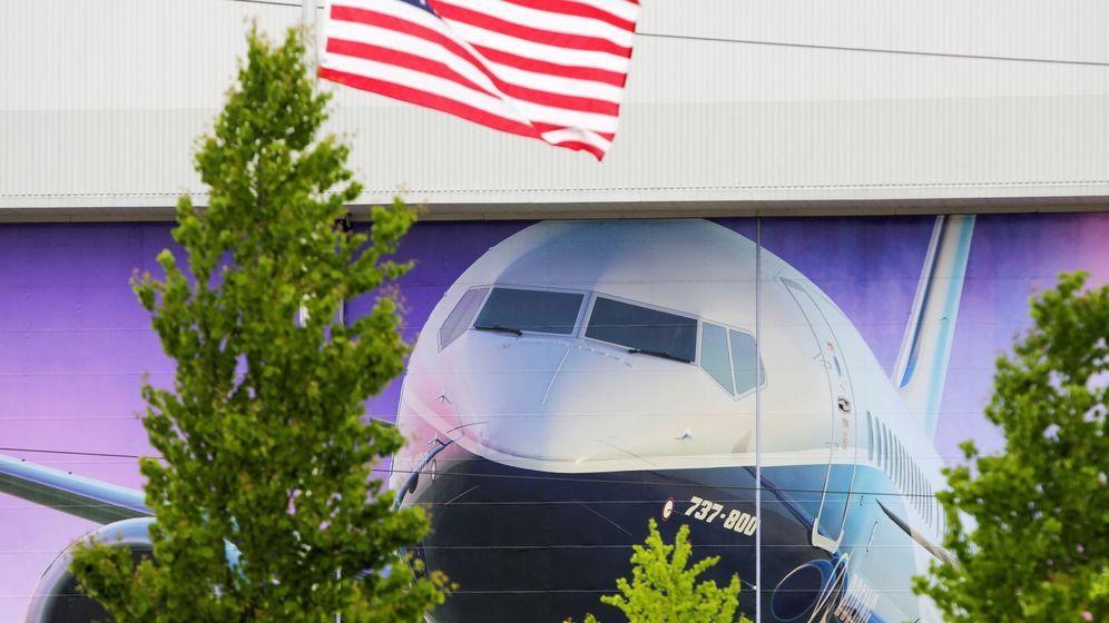Foto: fábrica de Boeing en Renton (EFE)