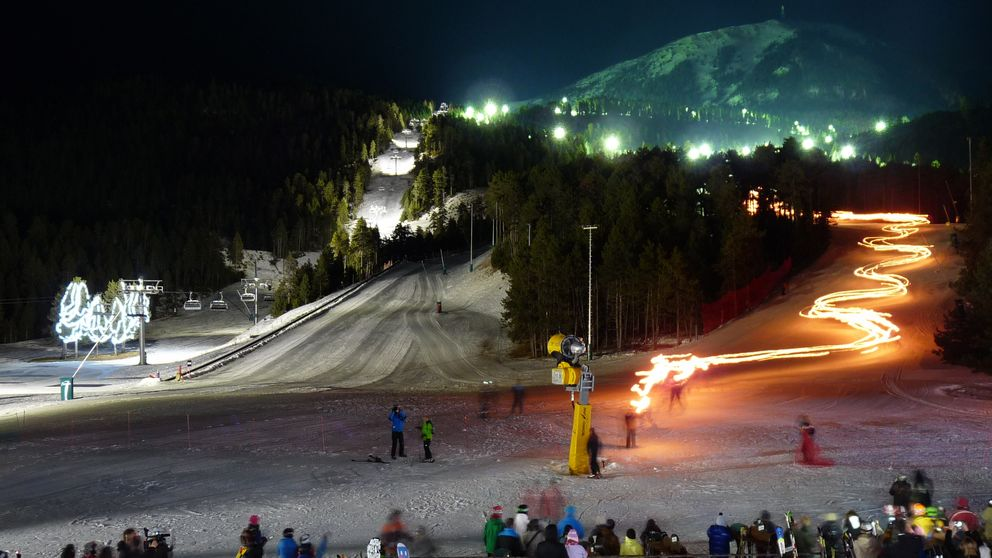 Masella, o el mejor esquí nocturno de España rodeado de pinos
