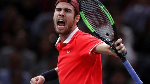 La 'detención' de un apagado Djokovic a manos del sorprendente Khachanov