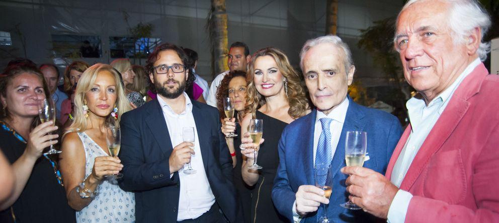 Foto: Algunos de los invitados al evento