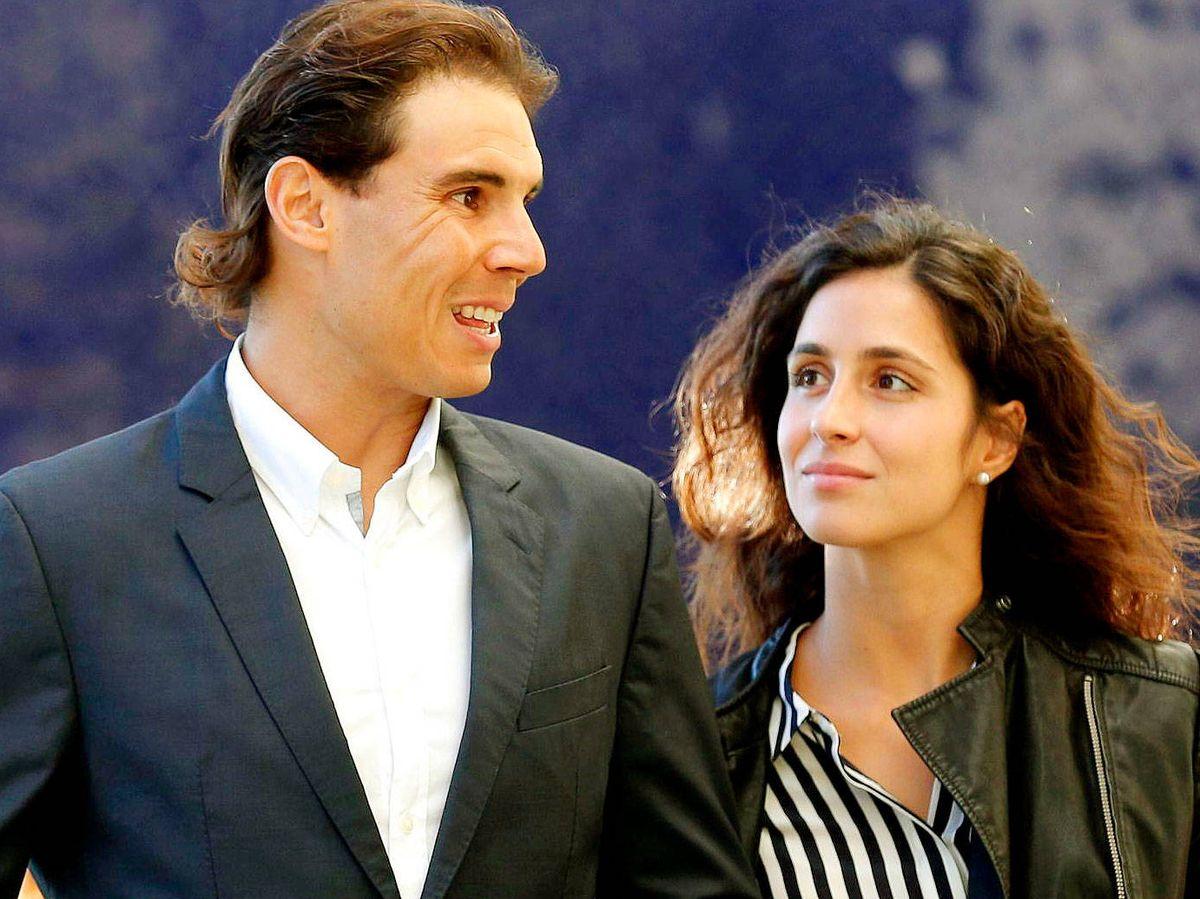 Foto: Rafa Nadal y Xisca Perelló. (EFE)