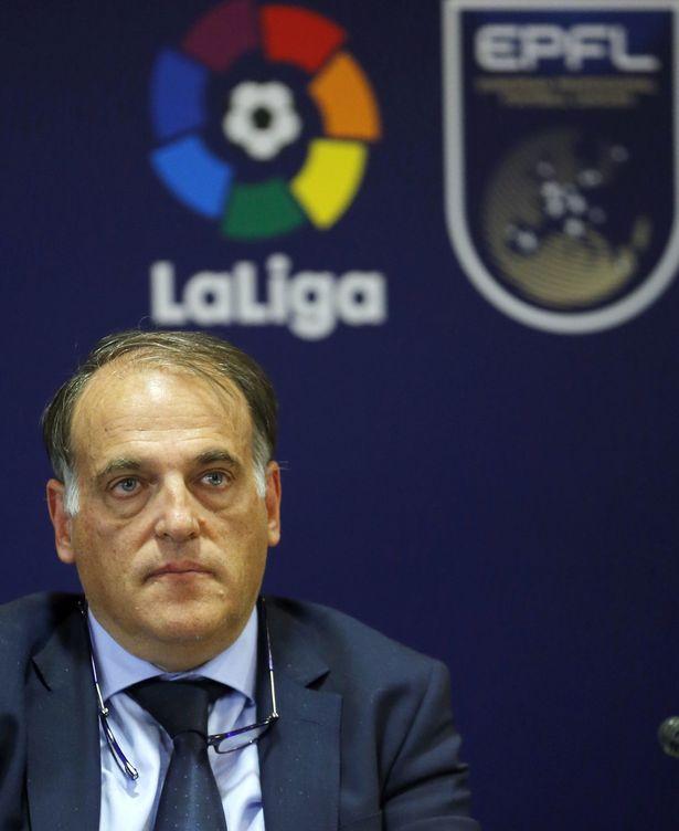 Foto: Javier Tebas, presidente de la Liga. (EFE)