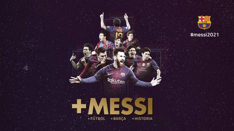 El Barcelona anuncia la renovación de Messi