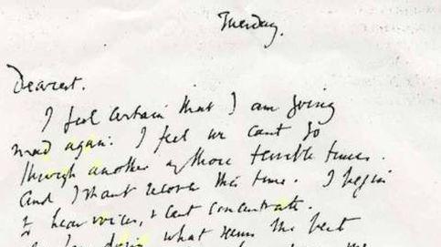 La despedida de Virginia Woolf: una carta de suicidio, unas piedras y un adiós