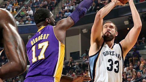 Marc vuelve a lucirse y reconduce a los Grizzlies a la victoria ante Kobe Bryant