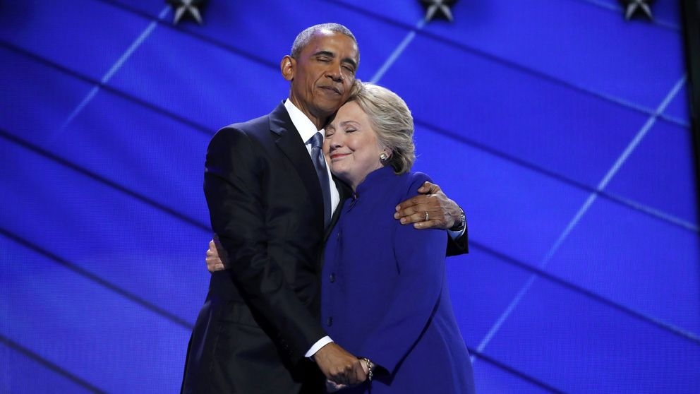 Convención Demócrata: Obama asegura que Clinton acabará con ISIS