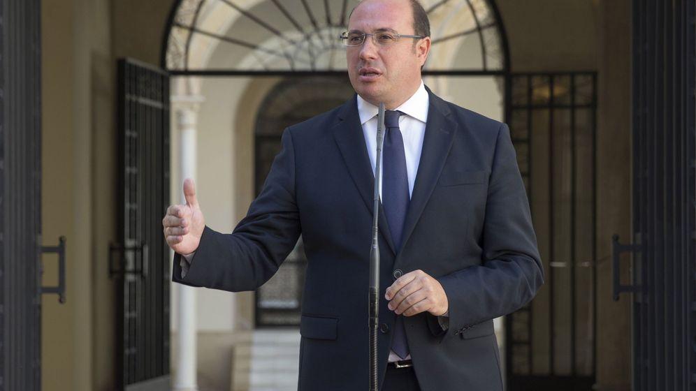 Foto: El presidente de la Comunidad de Murcia, Pedro Antonio Sánchez (EFE)