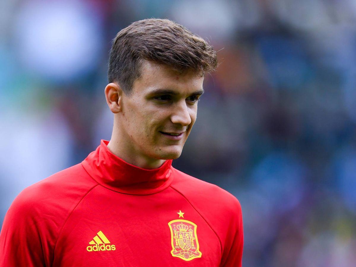 Foto:  Diego Llorente, con la selección española. (Getty)