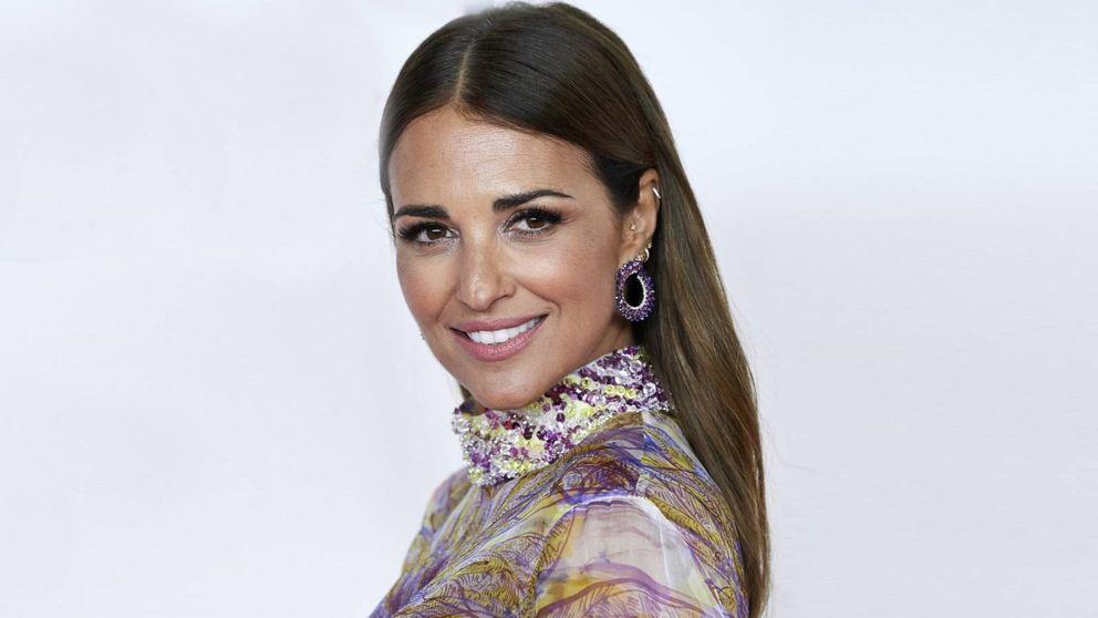 El vestido más floral de Paula Echevarría es de Zara y está rebajado