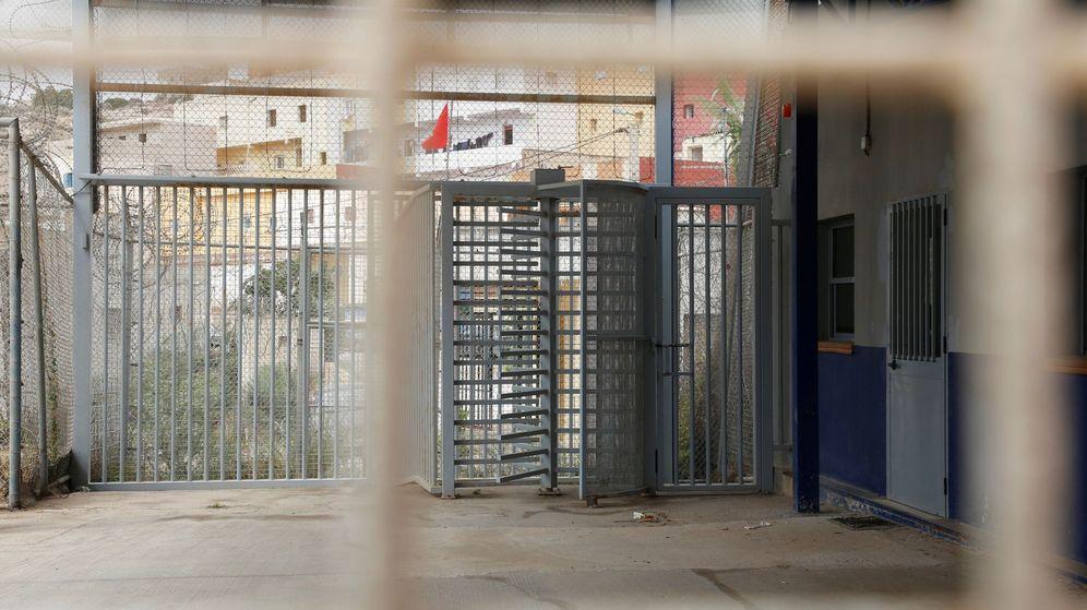 Foto: Vista del paso fronterizo de Mariguari (Melilla). (EFE)