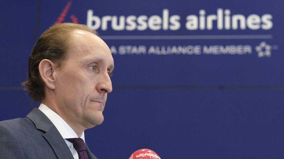 Foto: CEO de Brussels Airlines, Dieter Vranckx (Reuters)