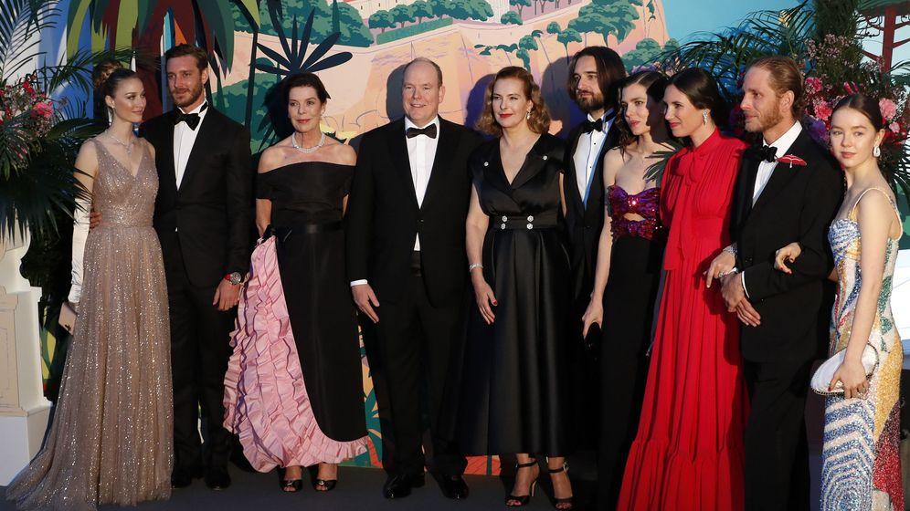 Foto: Los protagonistas del Baile de la Rosa. (Getty)