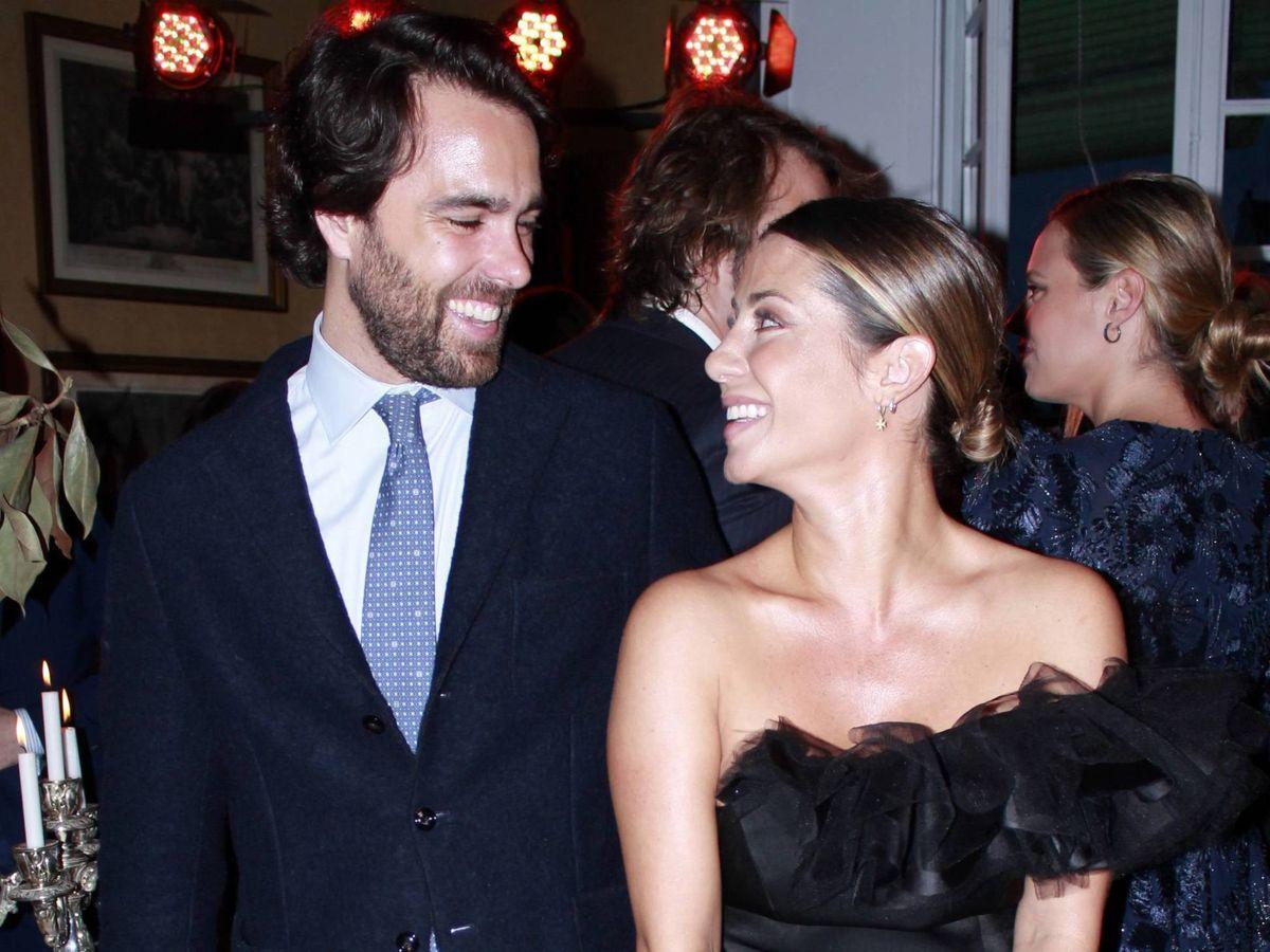 Foto: Javier y Elena, felices. (Cordon Press)