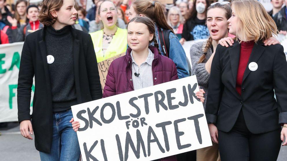 La joven activista Greta Thunberg acusa a los políticos de inacción ante el cambio climático