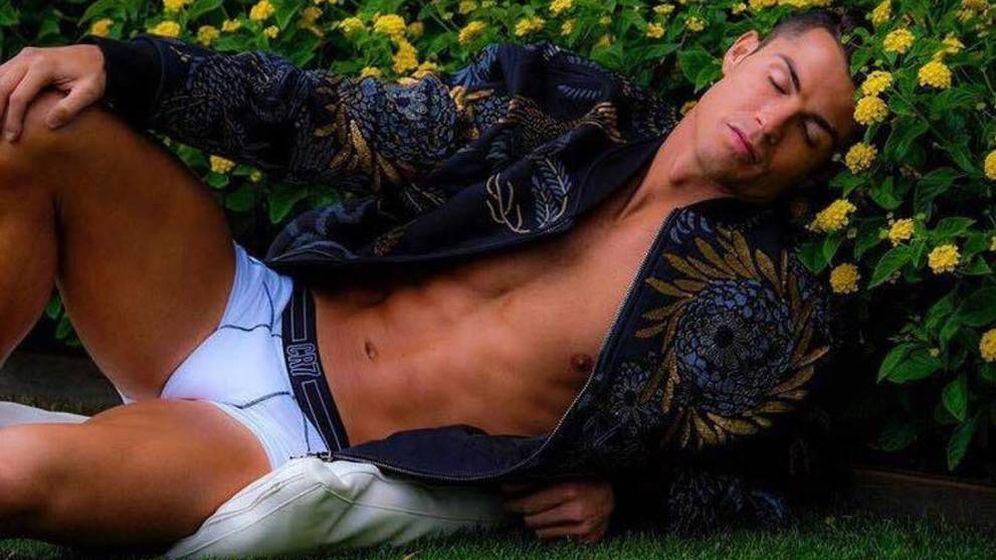 Foto: Cristiano Ronaldo en una imagen de archivo de su colección de ropa interior.