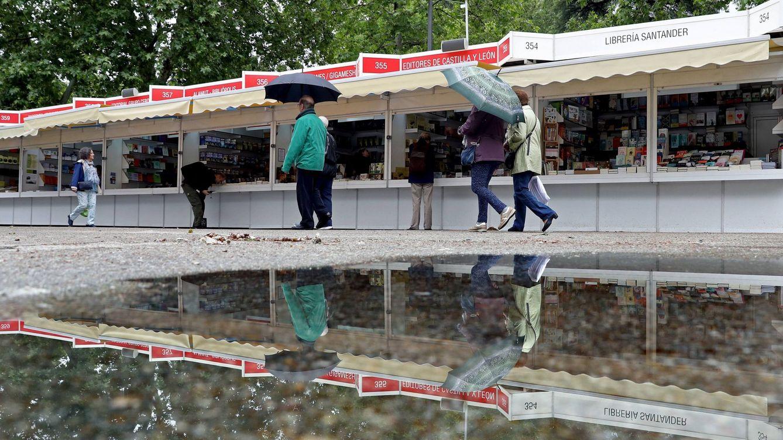 La Feria del Libro de Madrid cierra con una fuerte caída en ventas a causa de la lluvia