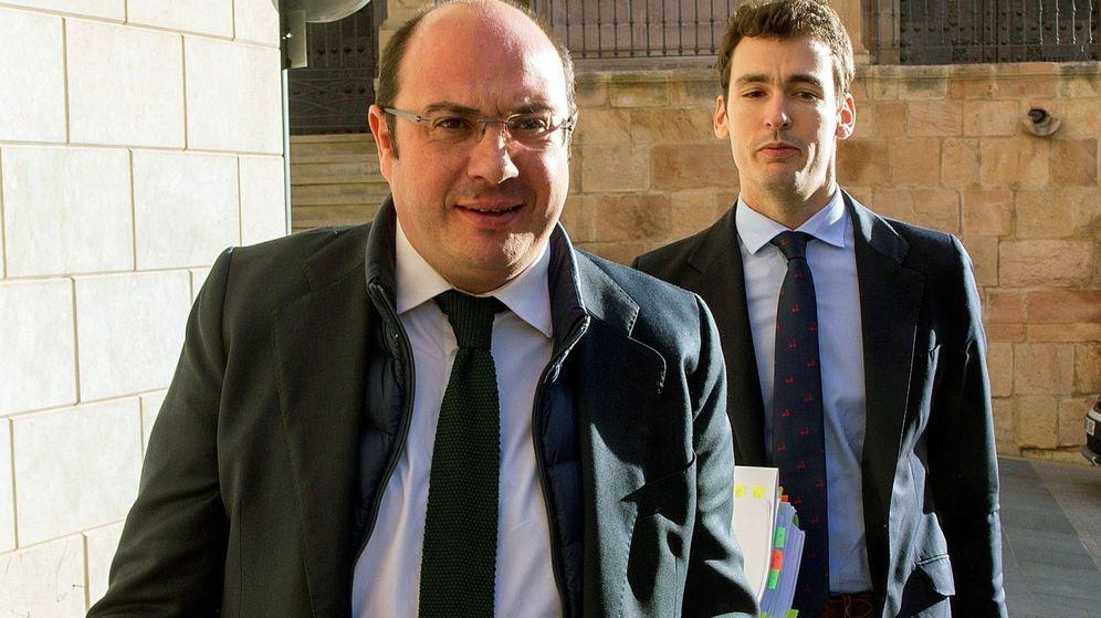 Foto: Pedro Antonio Sánchez, expresidente de Murcia. (EFE)