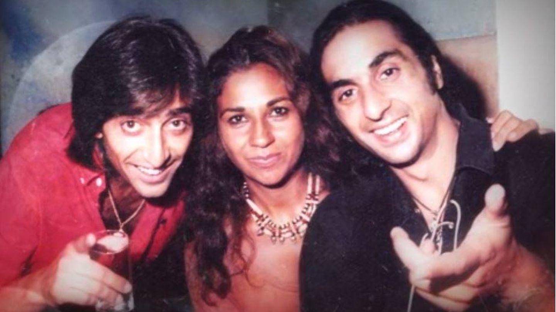 Antonio Carmona, Lolita y Antonio Flores en una imagen que se mostró en el programa.