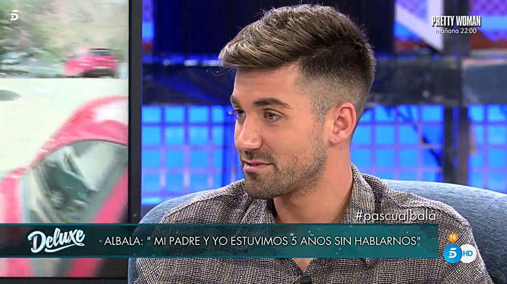 Foto: Alejandro Albalá, en 'Sábado Deluxe'. (Telecinco)