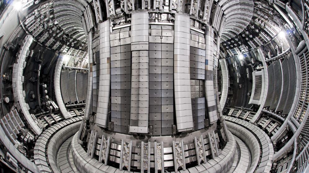 Foto: Reactor del HL-2M Tokamak