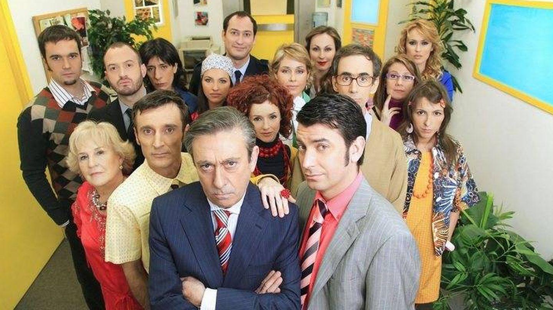 Los protagonistas de 'Camera Café'. (Mediaset)