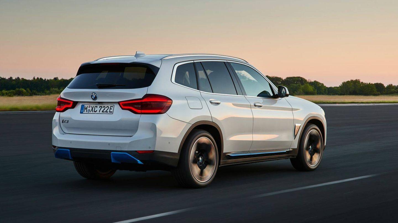 El BMW iX3 protagonizó la sorpresa agradable del test al recorrer 556,2 kilómetros, cuando su autonomía oficial es de 450.