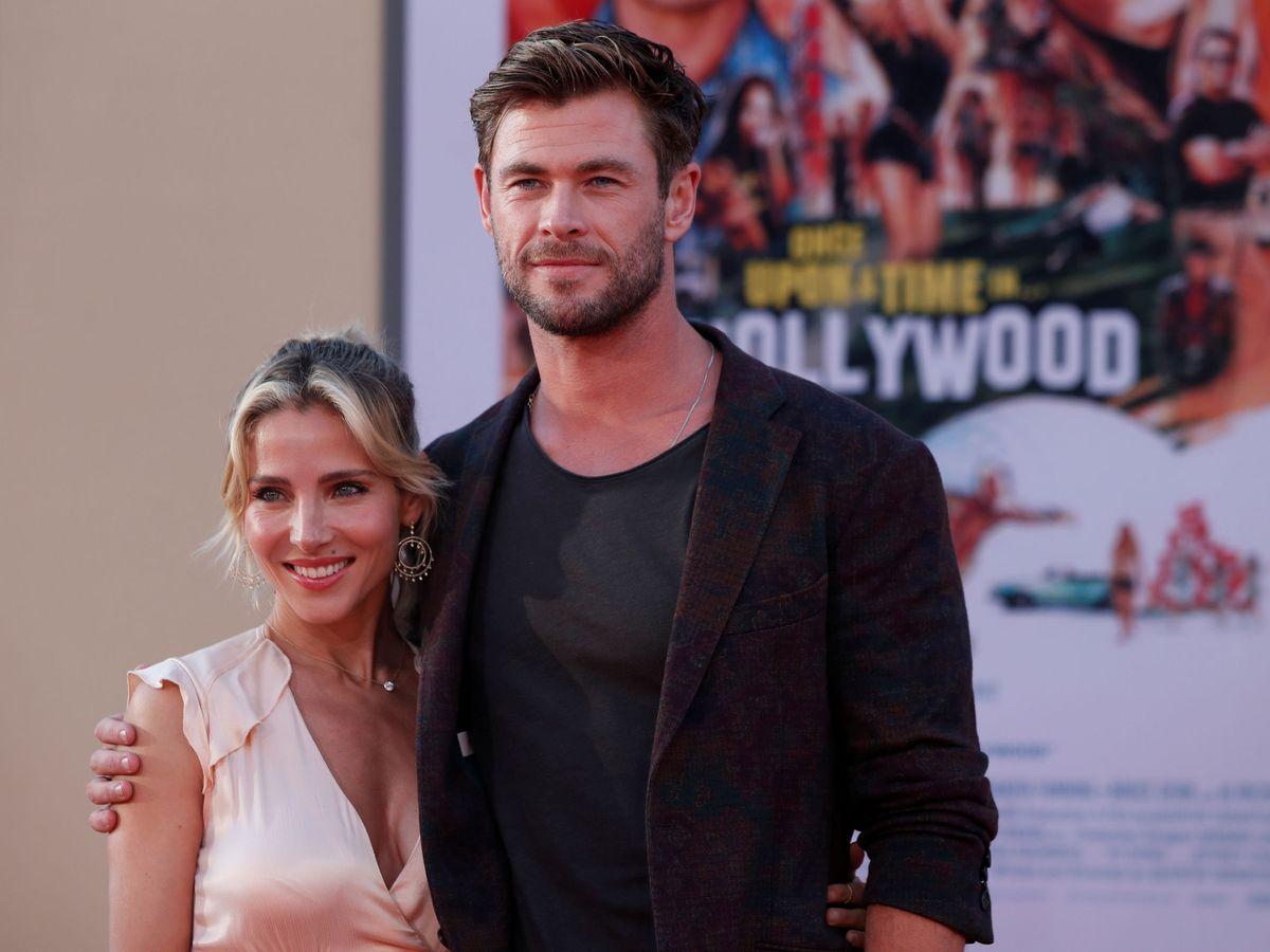 Foto: Elsa Pataky y Chris Hemsworth, en Los Ángeles. (Reuters)