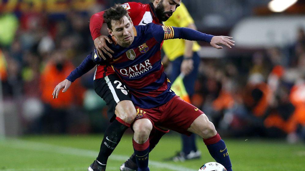 Foto: Messi se sometió a una litotricia este martes (Alejandro García/Efe)