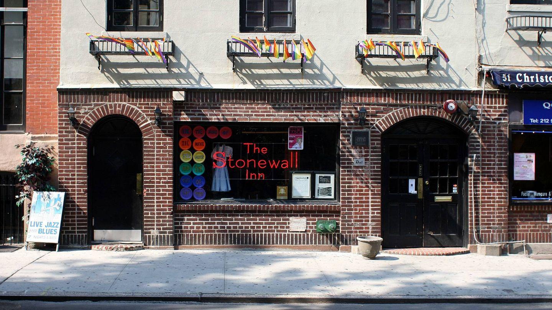 Bar Stonewall, en Nueva York, lugar de nacimiento del movimiento gay internacional   Foto: Johannes Jordan-CC