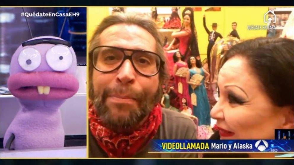 El cambio de Mario Vaquerizo en 'El hormiguero': coqueto con canas y barba