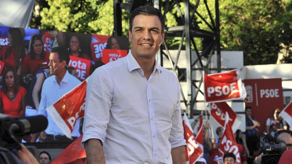 Foto: Sánchez dice que con un PSOE fuerte, el ala moderada de Podemos se impondría a la rama dura de Pablo Iglesias