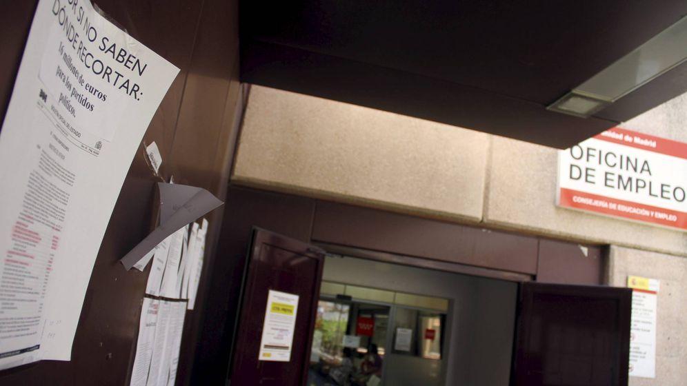 Foto: Oficina de empleo de la calle Orense de Madrid. (EFE)