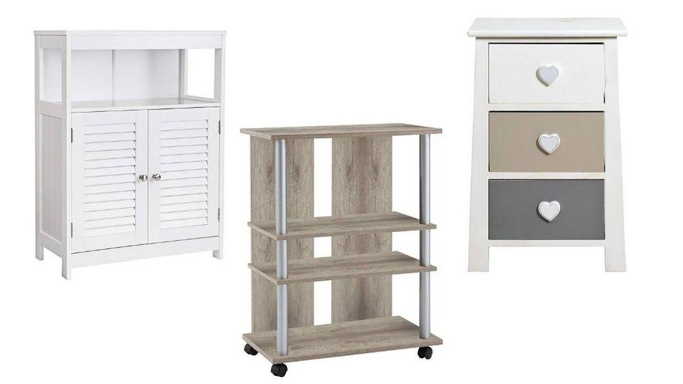 Los mejores muebles auxiliares para organizar, almacenar y ahorrar espacio