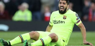 Post de Luis Suárez, operado del menisco de la rodilla derecha, no jugará la final de Copa