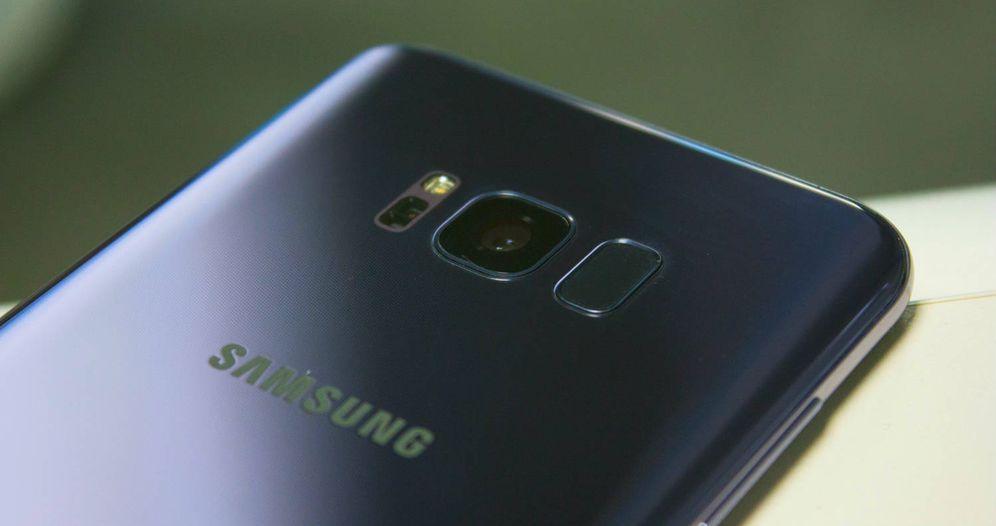 Foto: La cámara del nuevo Samsung Galaxy S8. (Foto: Enrique Villarino)