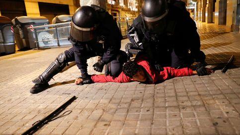 Altercados en Barcelona tras una manifestación negacionista del covid