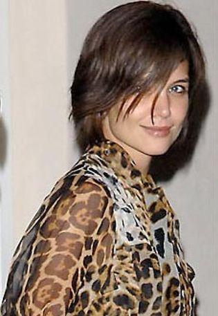 Foto: Katie Holmes le copia el peinado a Victoria Beckham