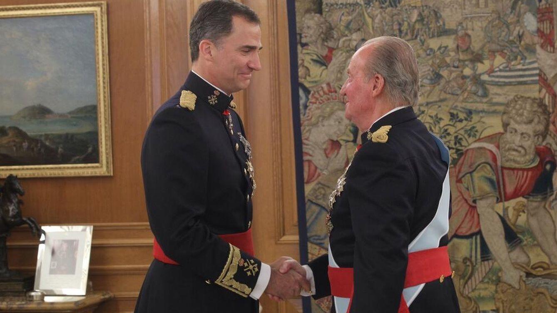 Foto: Felipe VI: un día histórico en imágenes