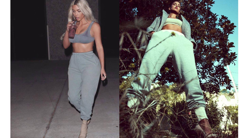 Kim Kardashian e Irina Shayk. (Instagram)