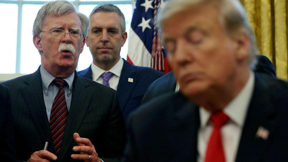 Las ocho claves del libro de Bolton sobre Trump