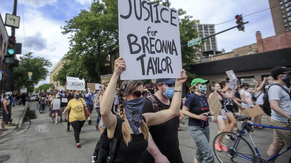 Foto: El caso de Breonna Taylor es uno de los que más ha impactado a la sociedad norteamericana (EFE EPA/Tannen Maury)