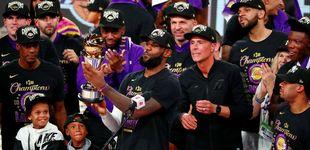 Post de Los Lakers ganan la NBA en recuerdo a Kobe Bryant y LeBron James hace historia