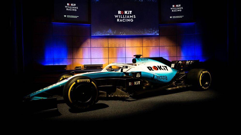 Foto: El FW42 en su presentación con los colores de su nuevo patrocinador y el retorno de Robert Kúbica, (WILLIAMS)