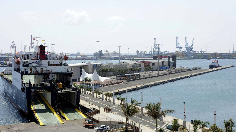 El puerto de La Luz de Las Palmas de Gran Canaria. (Efe)