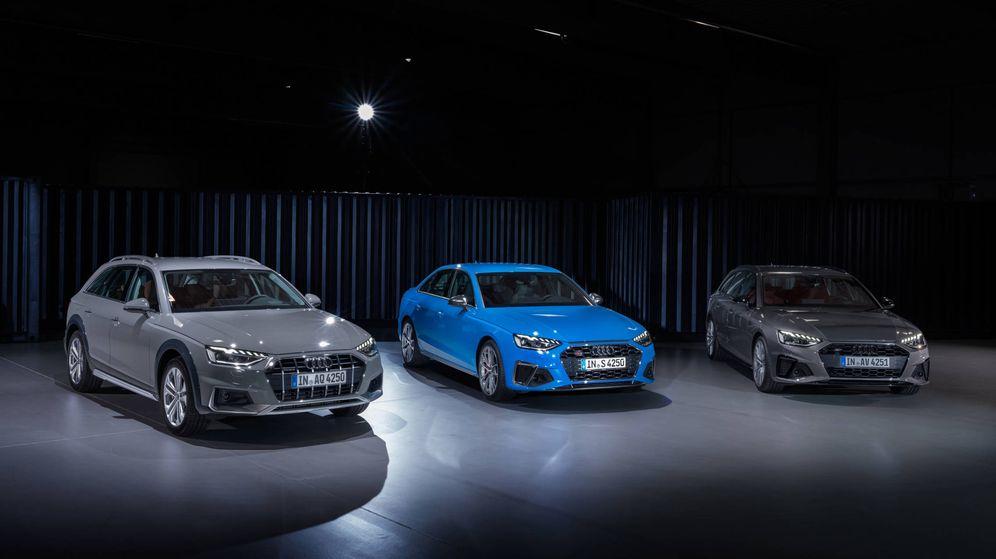 Foto: Gama del nuevo Audi A4, con sus versiones Allroad Quattro, berlina y familiar /(Avant).
