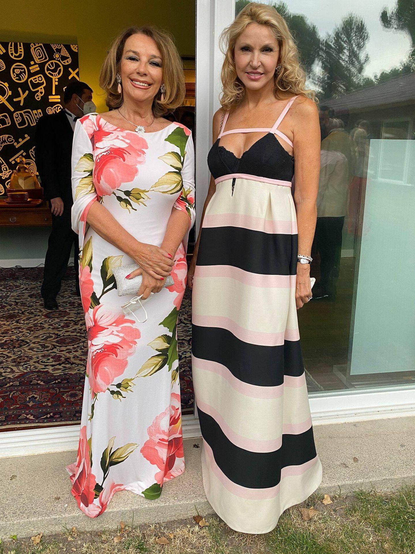 Carmen Spínola y Simi Cohen. (Foto: Cortesía)