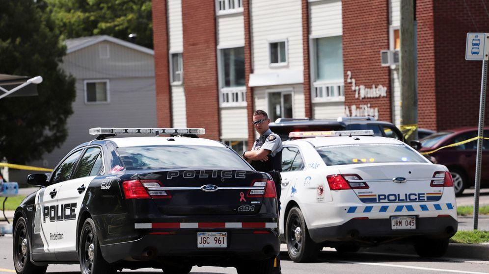 Foto: Imagen de archivo de la policía canadiense. (Reuters)