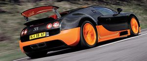 Veyron Super Sport a 431 km/h