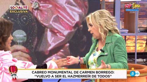 'Socialité' delata a Carmen Borrego y revela su violento cabreo tras la broma